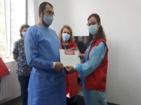 БЧК-Бургас и УМБАЛ Бургас отличиха кръводарители, спасили стотици