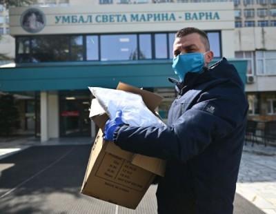 """Първите дарения започнаха да идват в УМБАЛ """"Св. Марина"""""""