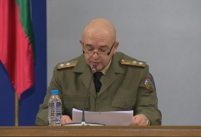 Ген. Мутафчийски: Мерките ще бъдат разхлабени, когато се покаже тенденция за овладяване на ситуацията