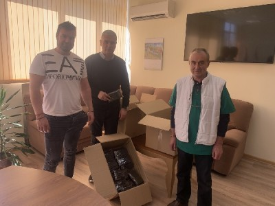 МБАЛ-Пазарджик получи над 2000 маски като дарения