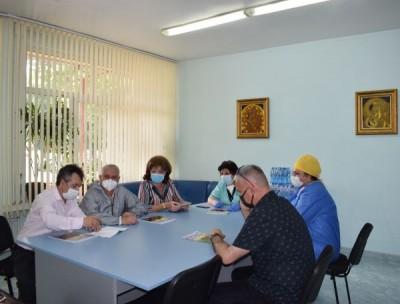 Екип на ВМА извърши  дезинфекция на Отделението по анестезиология в МБАЛ-Пазарджик