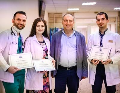 МУ-Варна награди млади лекари, работили на първа линия срещу коронавируса