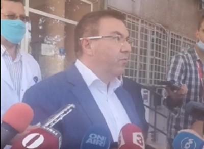 Министърът: Най-тежкият проблем в Бургас е с медицинския персонал (Обновена)