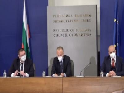 Министър Ангелов: Отчитаме първи крачки от края на третата вълна (Обновена)