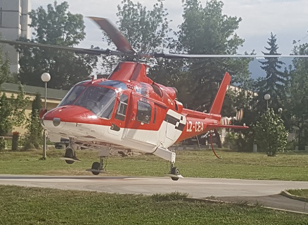 Продадоха в чужбина последния ни хеликоптер-линейка