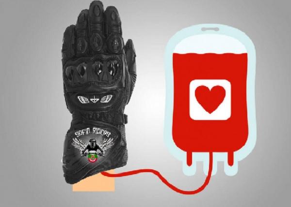 Най-големият мото клуб в България прави акция по кръводаряване