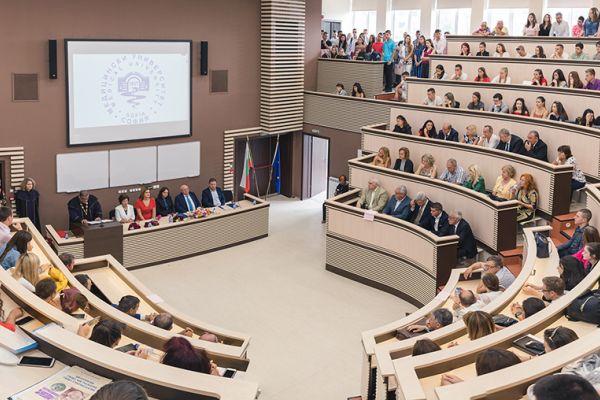 Тържествено откриха новата учебната година в МУ-София