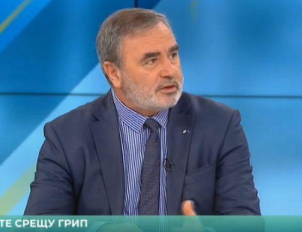 Доц. д-р Ангел Кунчев: Личните лекари ще ваксинират 120 000 души против грип безплатно