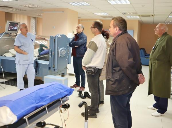 Военни лекари от Северна Македония учат авиационна медицина във ВМА