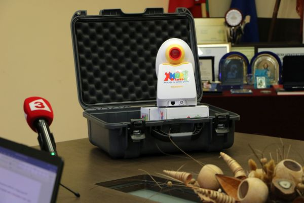 """Ултрамодерен апарат за диагностика на бронхиална астма получи """"Пирогов"""""""