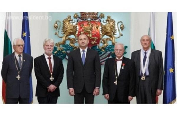 Президентът връчи орден
