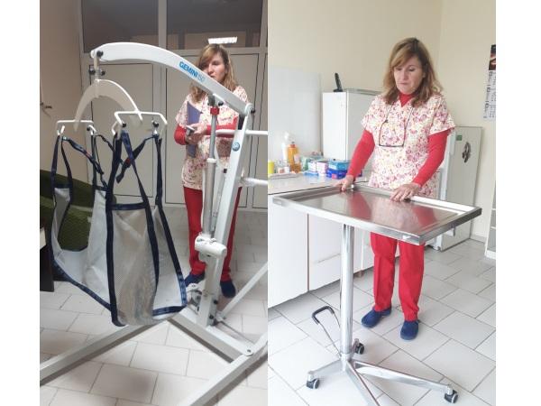 В УМБАЛ Бургас ново оборудване улеснява персонала при местенето на пациенти