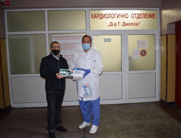 МБАЛ - Пазарджик получи дарения - апаратура, бебешки храни и лични предпазни средства