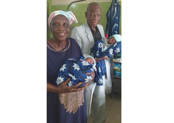 68-годишна жена роди близнаци в Нигерия