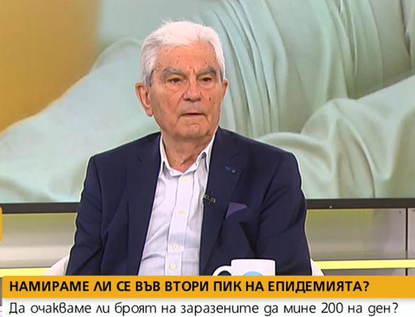 Акад. Петрунов: Категорично дискотеките и нощните барове не трябваше да се отварят