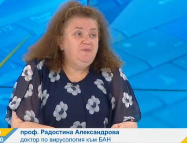 Проф. Александрова: Не е изключено в различни части на света да са актуални различни варианти на вируса