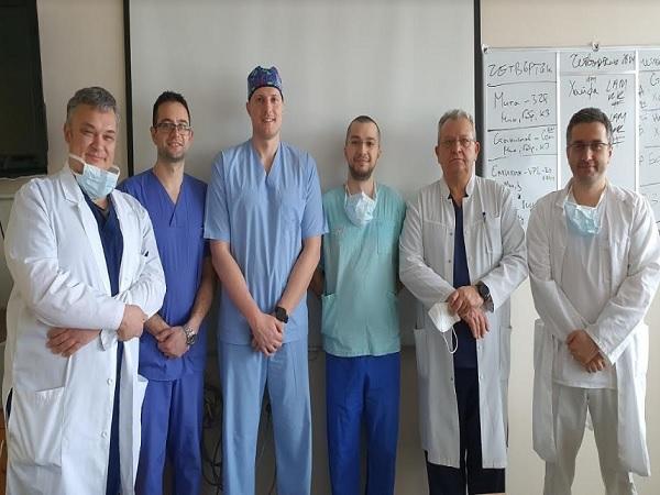 """Екип специалисти от """"Св. Иван Рилски"""" се нареди сред авторите в престижното списание Neurosurgery"""