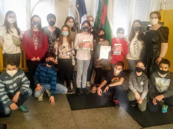 Деца, подкрепили кампанията