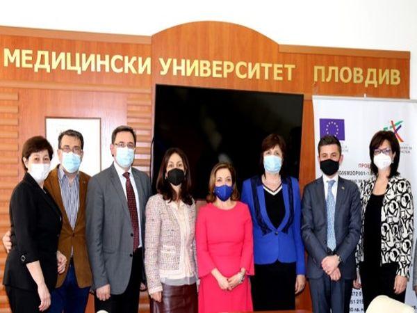 Новият посланик на Италия на посещение в МУ – Пловдив