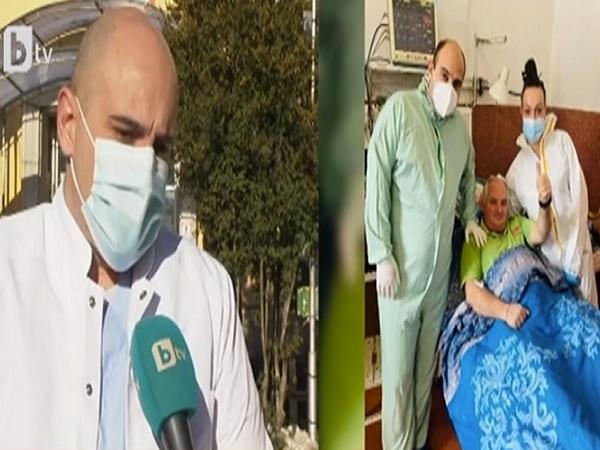 В болницата във Велинград спасиха двама пациенти в кома след COVID