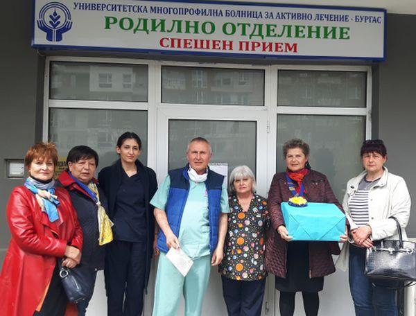 Родилно отделение на УМБАЛ-Бургас получи нов апарат за проследяване на бременността