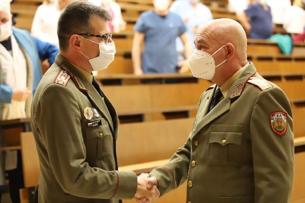 Полк. доц. д-р Иван Попиванов  е новият зам.-началник на ВМА