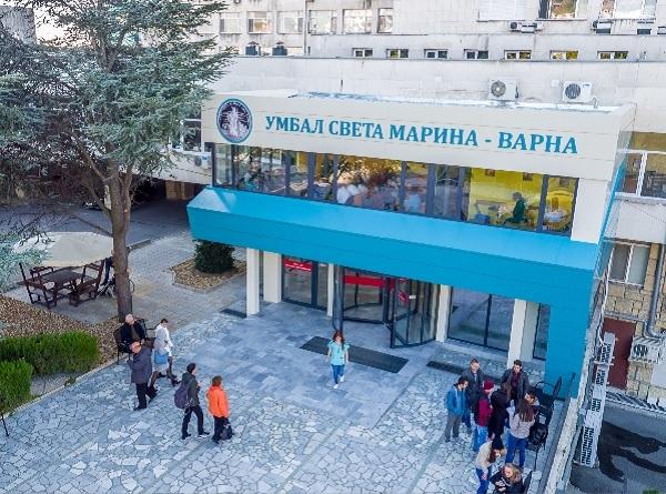 """516 пациенти с COVID са преминали през УМБАЛ """"Св. Марина""""-Варна за седмица"""