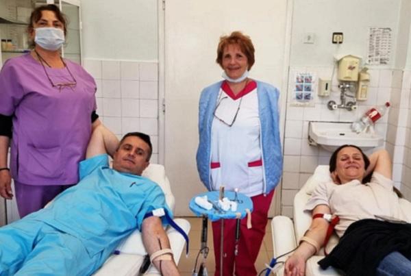 41 кръводарители се отзоваха на призива за бременната жена от Родопите