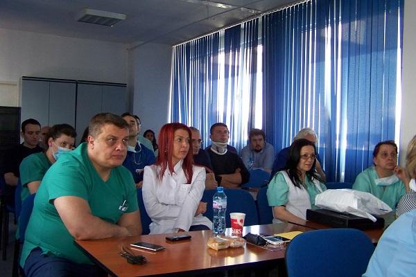 Над 25 лекари участваха в обучение по криоаналгезия