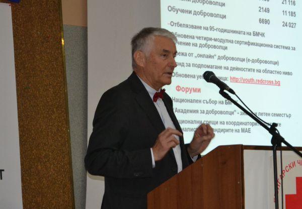 Христо Григоров преизбран за председател на БЧК