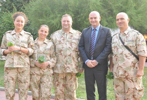 За 15-и път екип от български военни медици замина за Мали