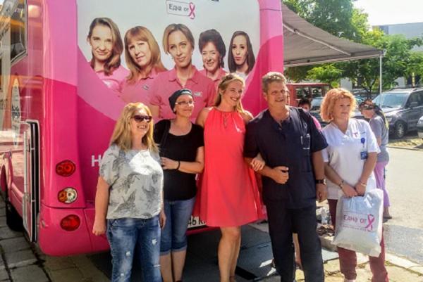 Розовият кемпер на Нана помогна на онкоболни жени и в Пловдив