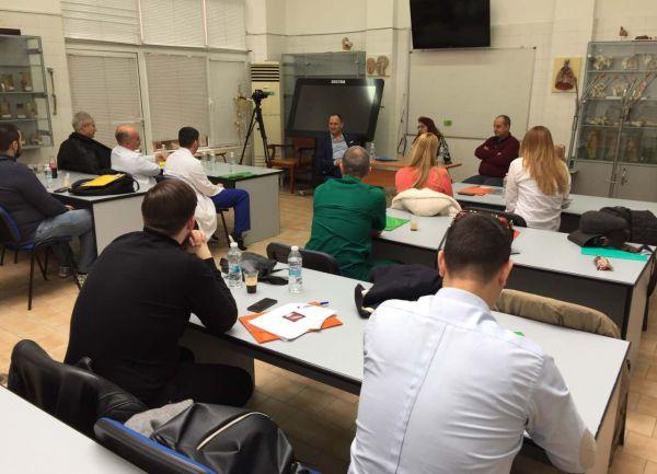 Курс по ендоскопска дисекция на нос се проведе през уикенда в Пловдив
