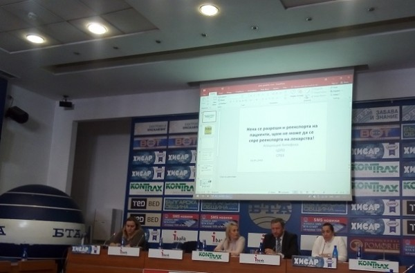 Над половината от медикаментите, които влизат в България, биват изнасяни