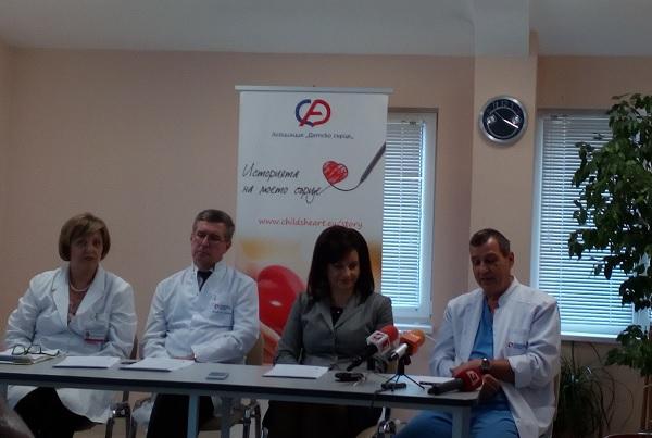 Един милион деца в света се раждат със сърдечни малформации, 30% загиват без лечение