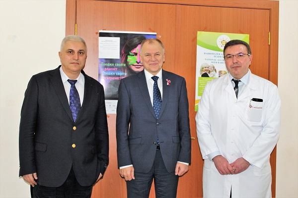 Витянис Андрюкайтис: Експертният център по генетични заболявания е на европейско ниво