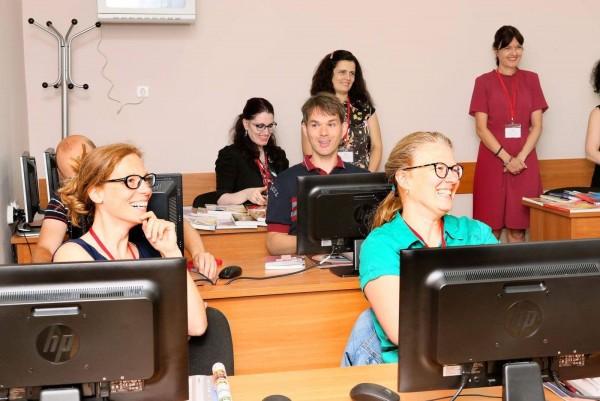 МУ-Пловдив проведе обучение на 8 учители от европейски страни