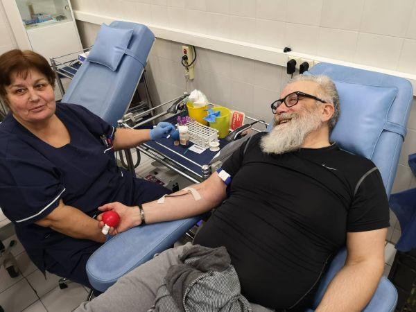 Кръвният център на ВМА стана на 25 години