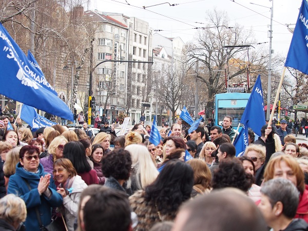 Медсестрите продължават с протестите (обновена)