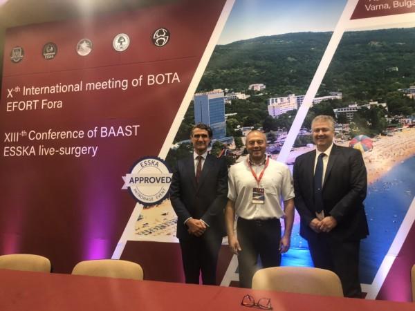 Доц. д-р Калин Михов е новият председател на Българската асоциация по артроскопия и спортна травматология
