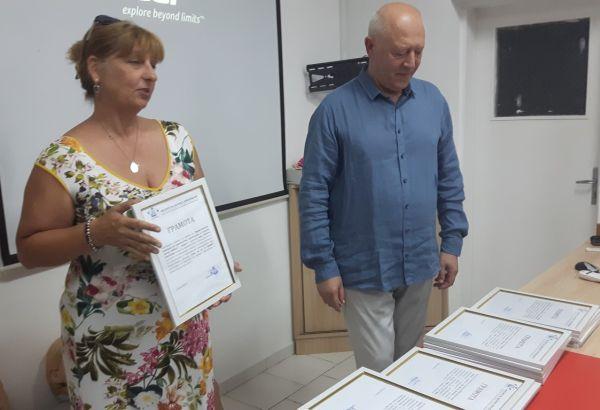 Учители и ученици спасиха десетки човешки животи в Бургас